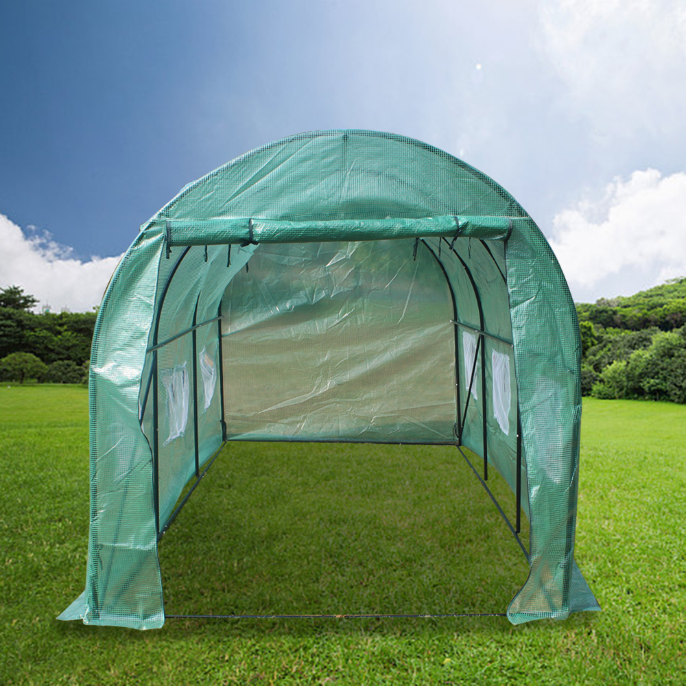 15x7x7′ Portable Greenhouse Large Walk-in Plant Flower Garden House 20′x10′x7′