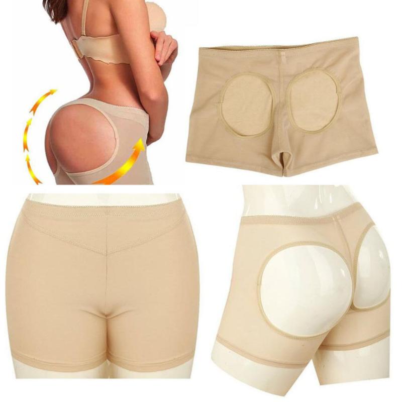 Women Body Shaper Briefs Butt Lifter Panty Booty Push Up Booster Hip Enhancer US