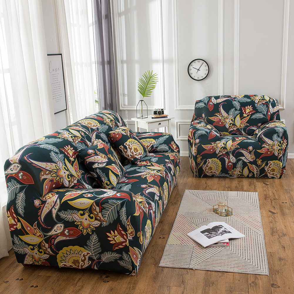 Sofa Cover Slipcover 1 2 3 Seater Elastic Settee Stretch Floral Couch Protect US