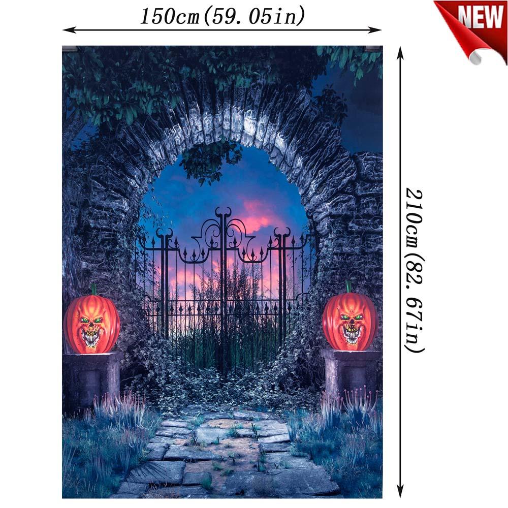 Halloween-5X7FT-7x5FT-Vinyl-Studio-Muslin-Photography-Backdrop-Photo-Stand-Props thumbnail 62