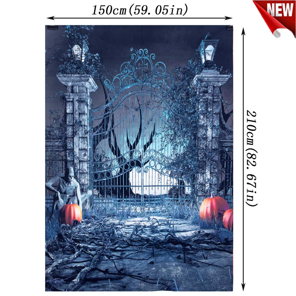 Halloween-5X7FT-7x5FT-Vinyl-Studio-Muslin-Photography-Backdrop-Photo-Stand-Props thumbnail 68