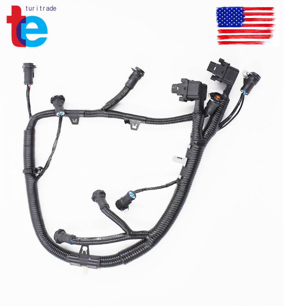 Ficm Fuel Injector Module Wiring Harness For 03 07 Ford 60l 5c3z9d930a F 350 Super Duty 06