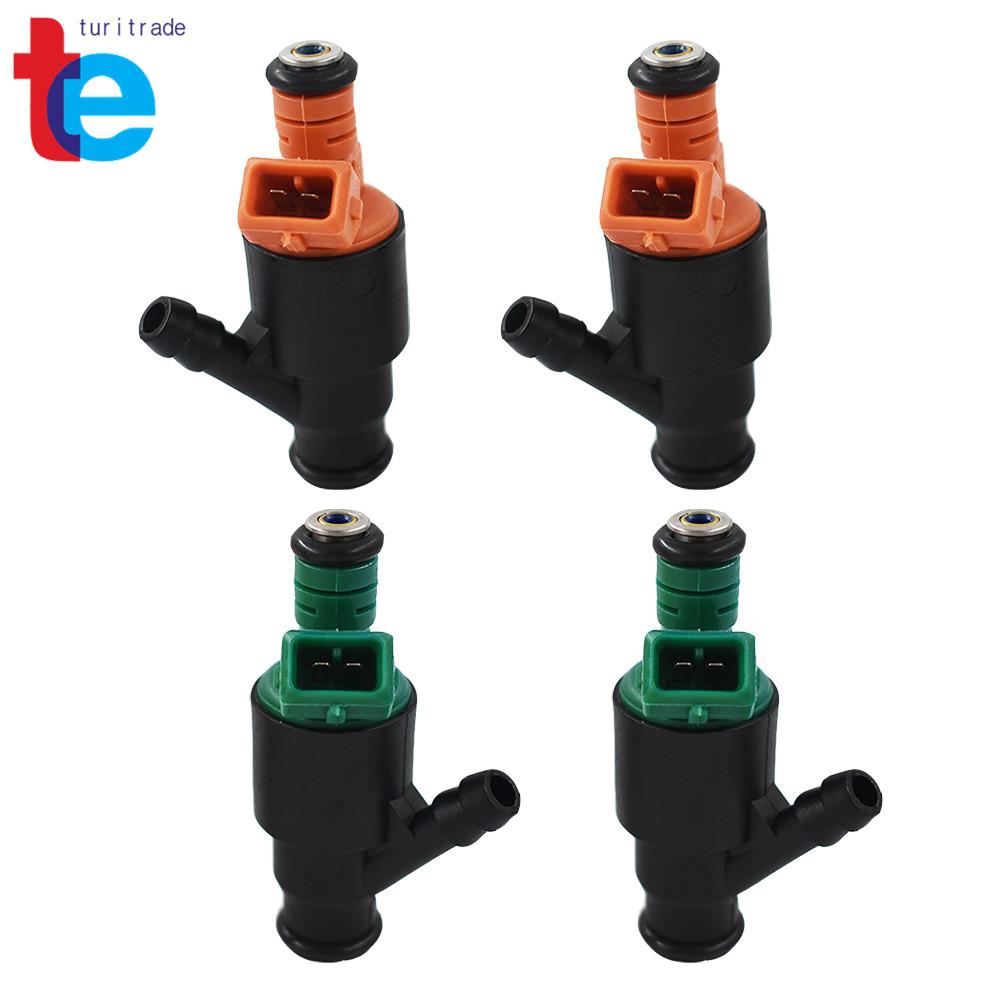 Set 4 OEM fuel injector nozzle 0280150504 0280150502 For 95-02 Kia Sportage 2.0L