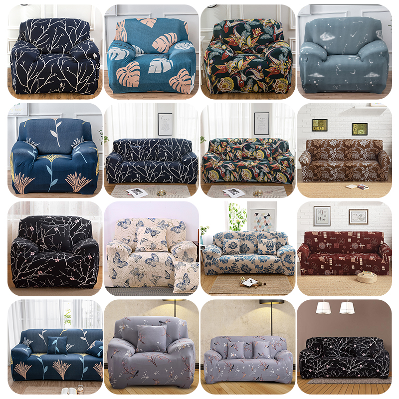 1-4 Seat Stretch Spandex Chair Sofa Couch Cover Elastic Slip