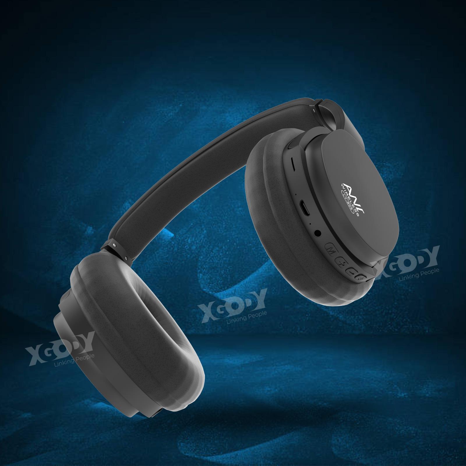 TWS Bluetooth ANC Headset Earphones Headphones Active Noise