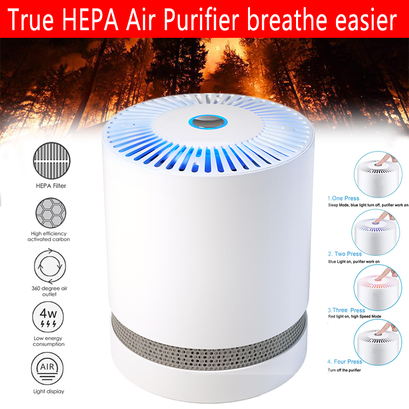 Large-Room-Air-Purifier-with-True-HEPA-Filter-Remove-Allergies-Odors-Noise-free miniature 14