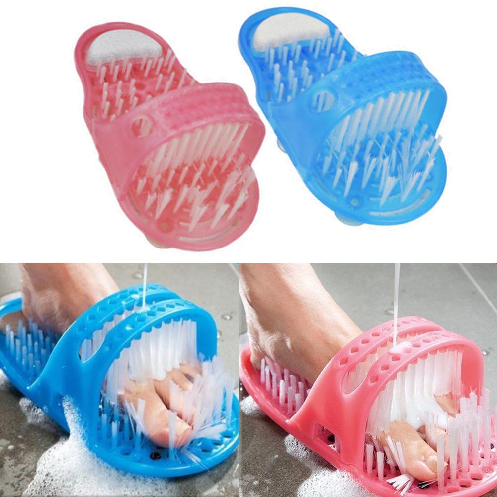 Shower Feet Foot Scrubber Bath Massager Cleaner Spa
