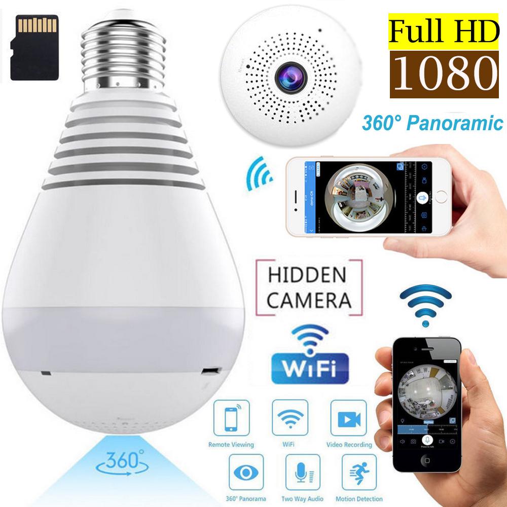 Mini Security Wireless Wifi Ip Camera 360 176 Panoramic Spy