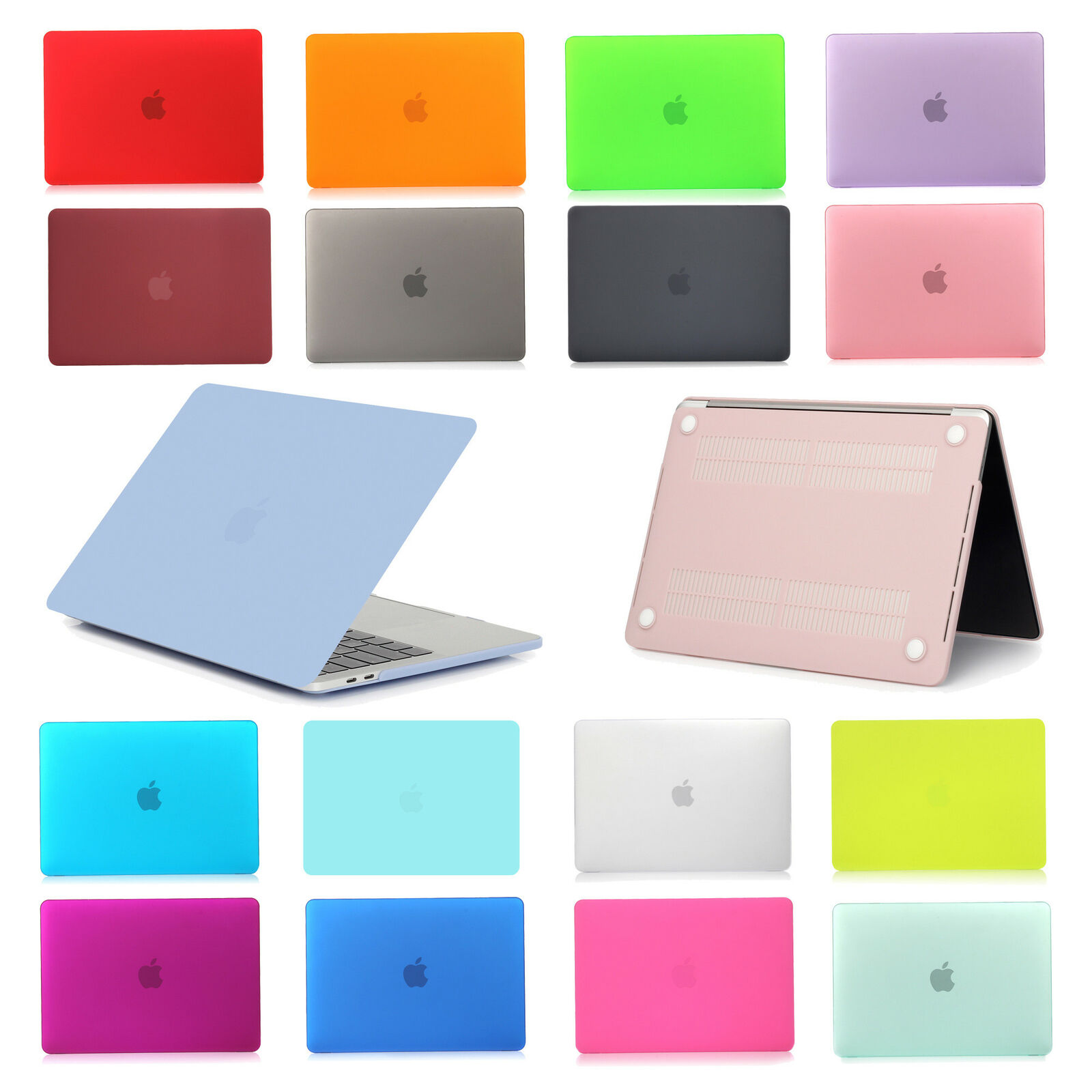For Apple Macbook Air 11/13 inch Pro 13 inch Hard Case Cover