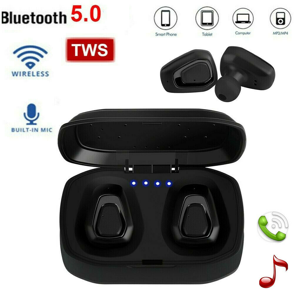 A7 Wireless Stereo Headset Mini Sport Gym Earbuds Headphones