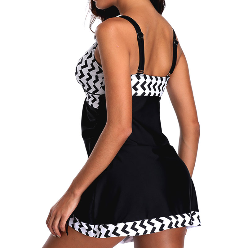 Plus-Size-Women-Tankini-Swimdress-Shorts-Briefs-Swimwear-Beachwear-Swimsuit thumbnail 30