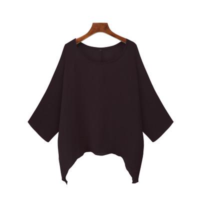 US-Plus-Size-Boho-Women-3-4-Sleeve-Kaftan-Baggy-Blouse-Top-Loose-Tee-Shirt-Tops thumbnail 68