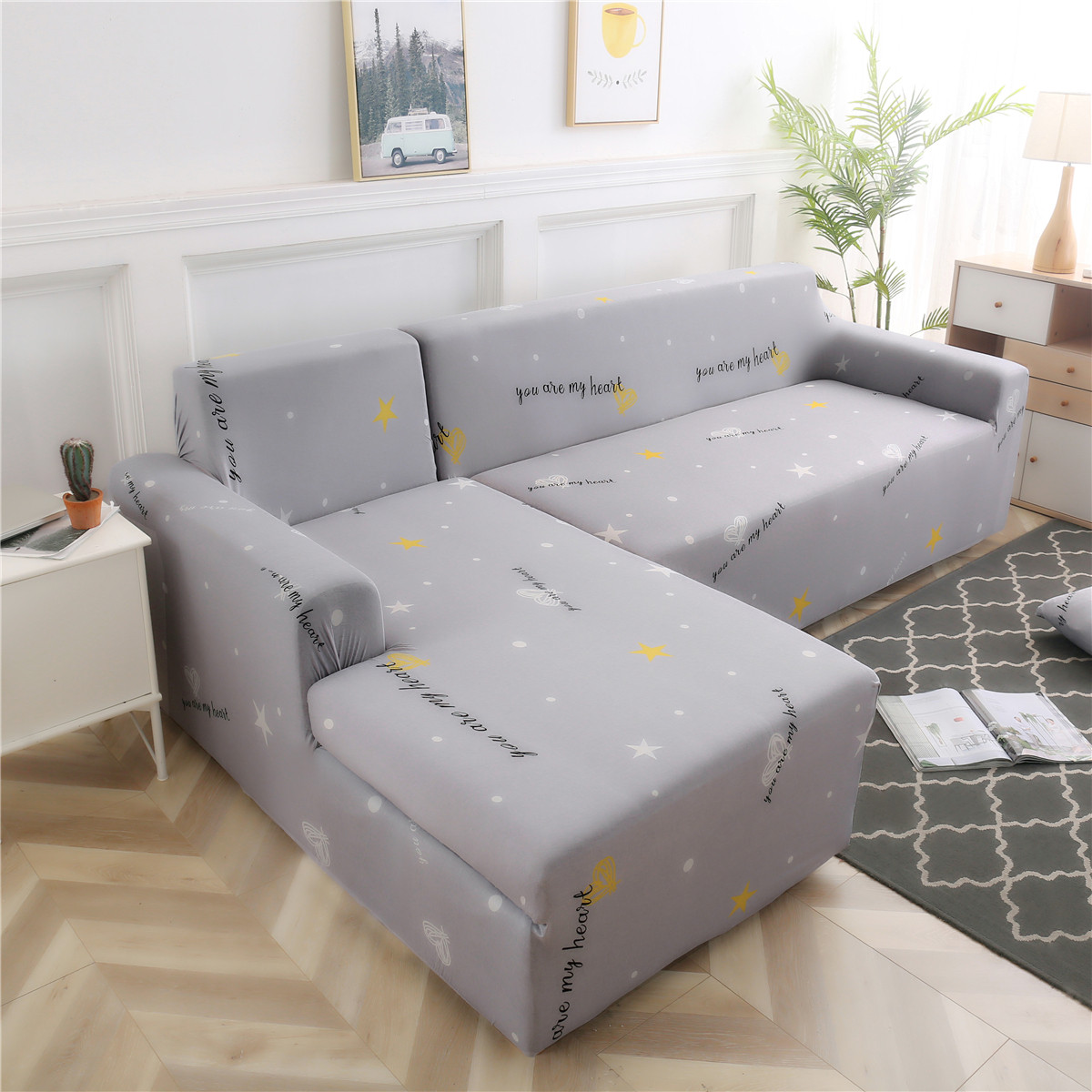 Universal Sofa Bed Cover Settee Stretch Couch Slipcover