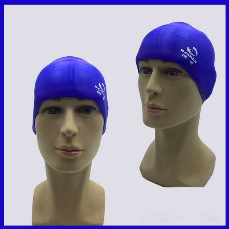 Non-slip Silicone Swim Cap Pool Hat Cover for Unisex Adult Men Women Durable USA