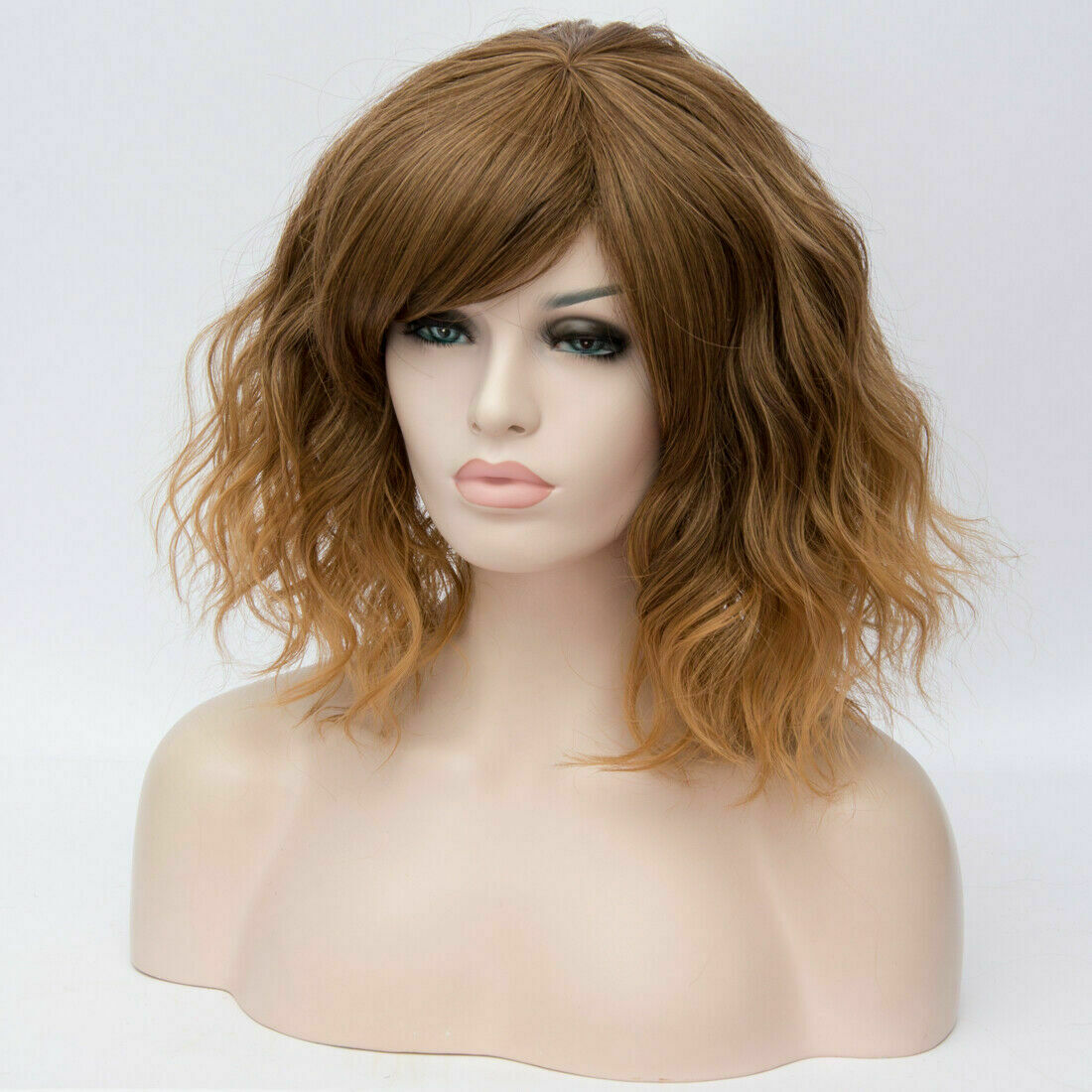 Lolita-Women-039-s-Short-Curly-Anime-Synthetic-Hair-Heat-Resistant-Cosplay-Party-Wig miniature 20