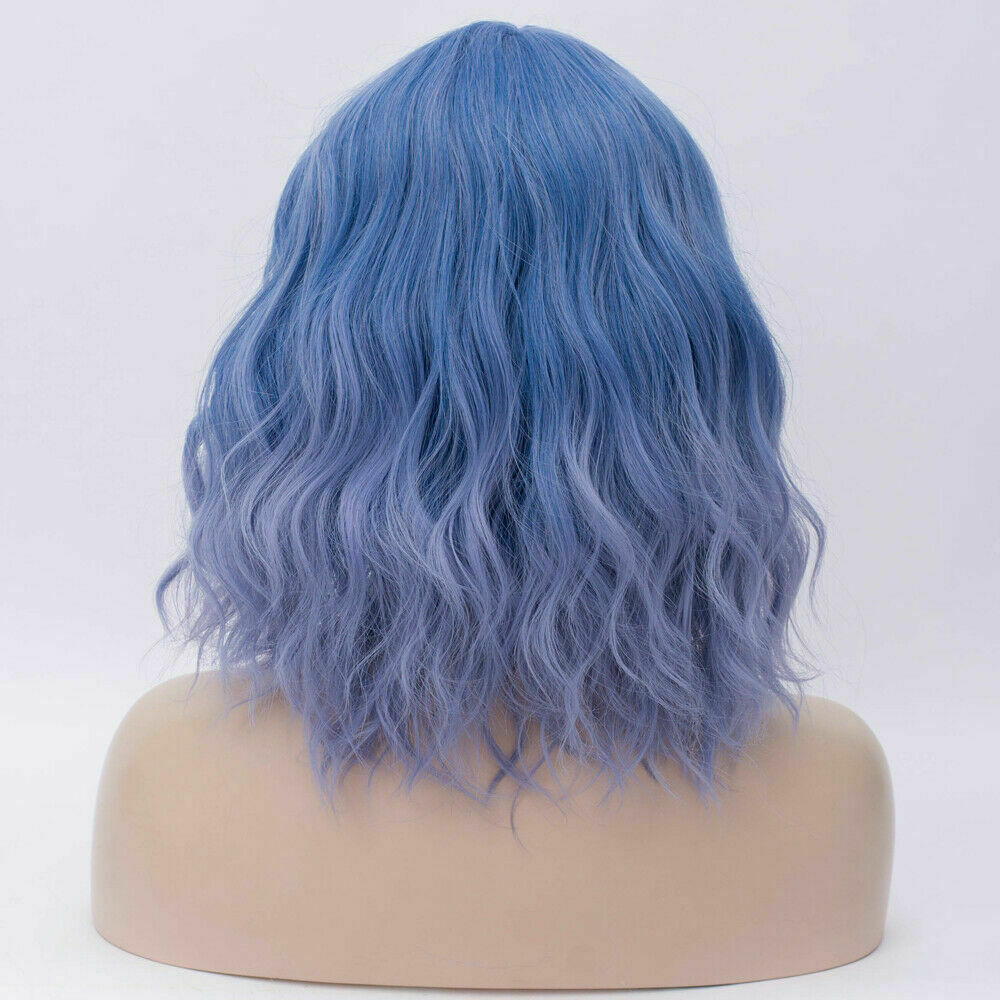 Lolita-Women-039-s-Short-Curly-Anime-Synthetic-Hair-Heat-Resistant-Cosplay-Party-Wig miniature 22
