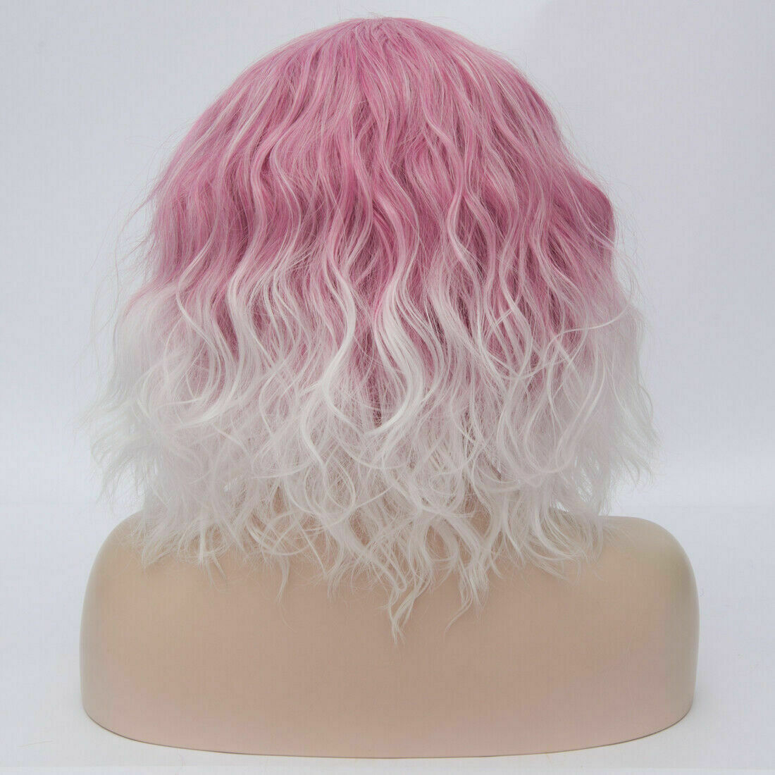 Lolita-Women-039-s-Short-Curly-Anime-Synthetic-Hair-Heat-Resistant-Cosplay-Party-Wig miniature 31