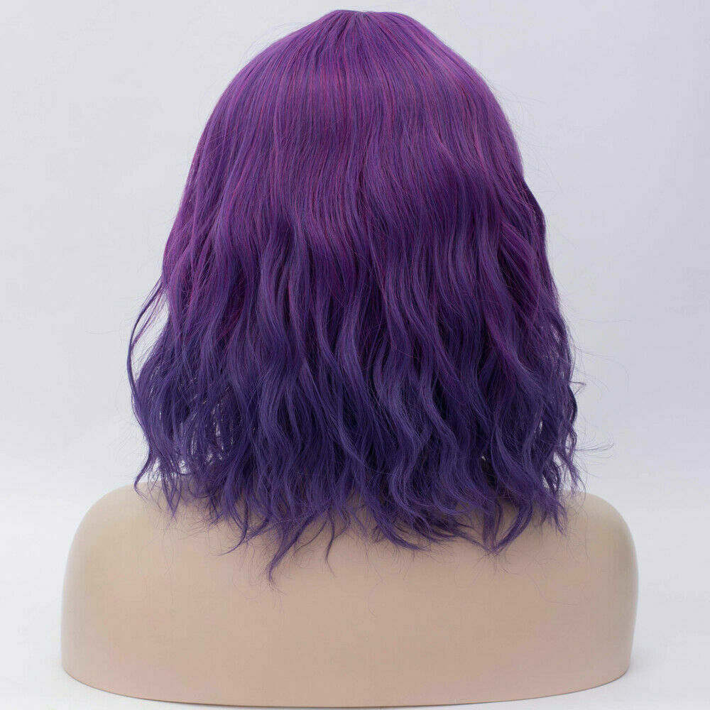 Lolita-Women-039-s-Short-Curly-Anime-Synthetic-Hair-Heat-Resistant-Cosplay-Party-Wig miniature 34