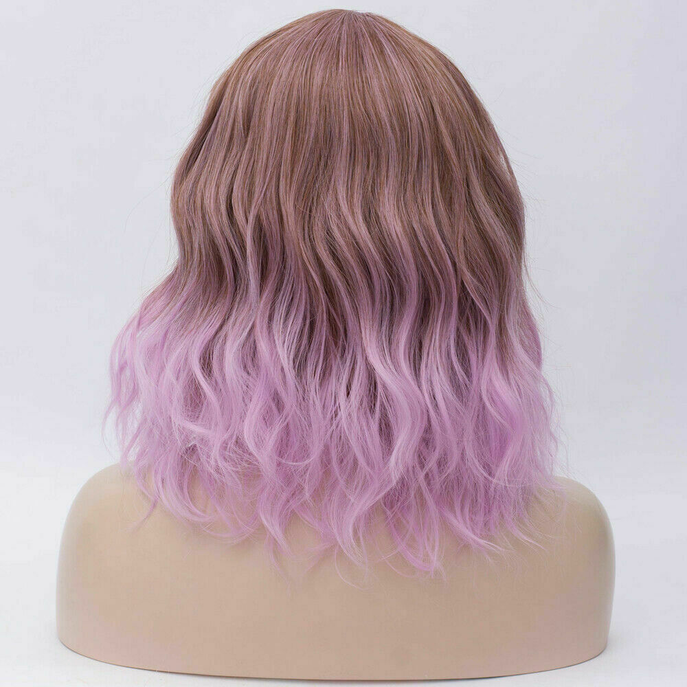Lolita-Women-039-s-Short-Curly-Anime-Synthetic-Hair-Heat-Resistant-Cosplay-Party-Wig miniature 58