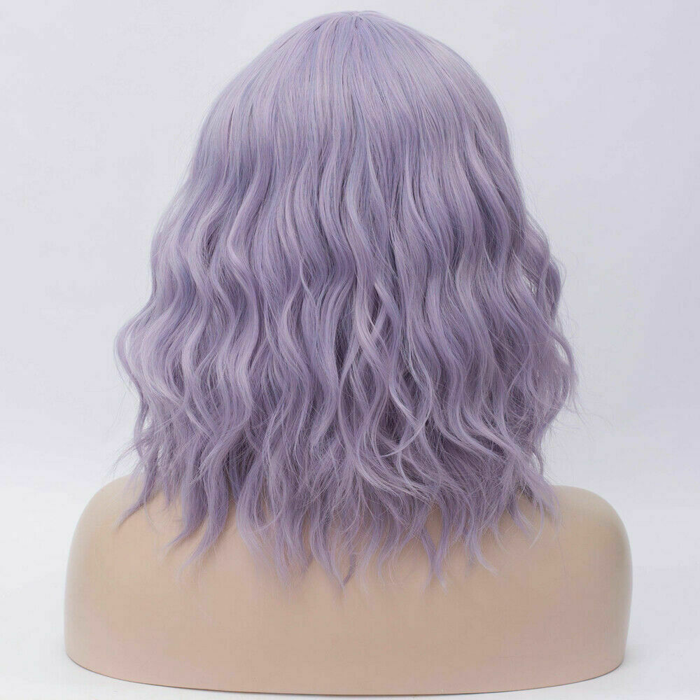 Lolita-Women-039-s-Short-Curly-Anime-Synthetic-Hair-Heat-Resistant-Cosplay-Party-Wig miniature 62