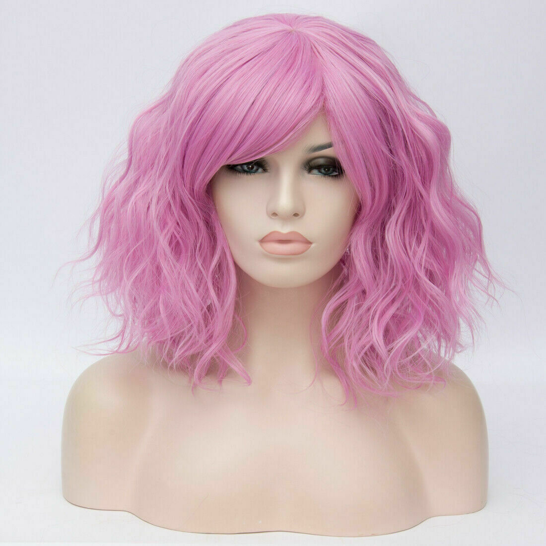 Lolita-Women-039-s-Short-Curly-Anime-Synthetic-Hair-Heat-Resistant-Cosplay-Party-Wig miniature 70