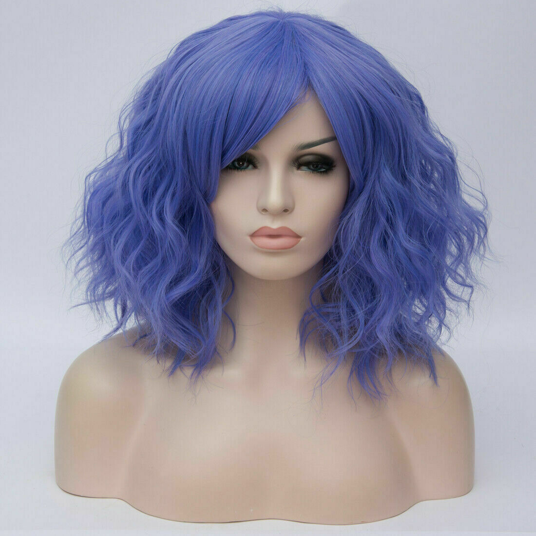 Lolita-Women-039-s-Short-Curly-Anime-Synthetic-Hair-Heat-Resistant-Cosplay-Party-Wig miniature 74