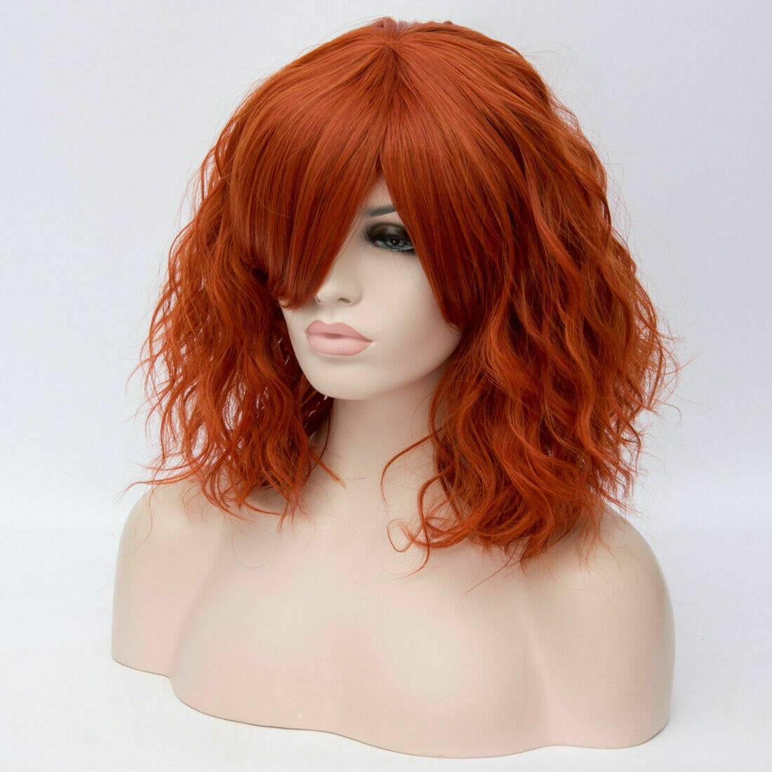 Lolita-Women-039-s-Short-Curly-Anime-Synthetic-Hair-Heat-Resistant-Cosplay-Party-Wig miniature 80