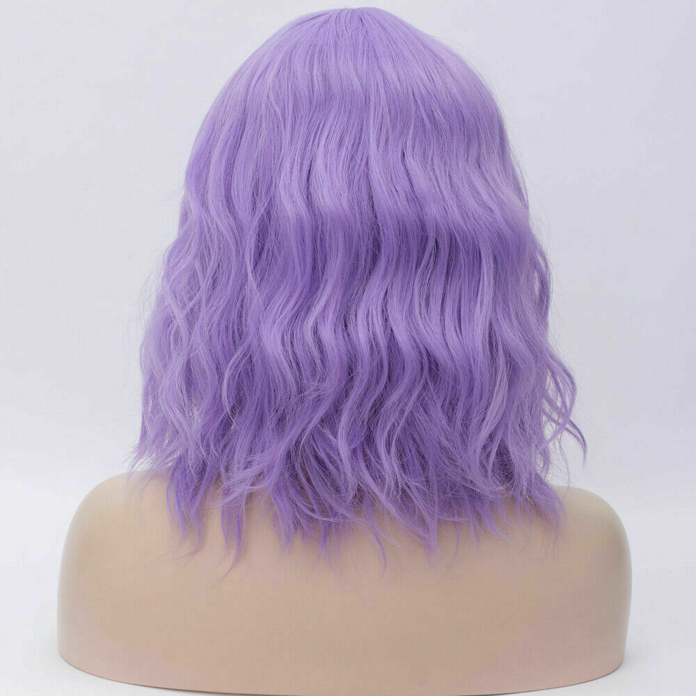 Lolita-Women-039-s-Short-Curly-Anime-Synthetic-Hair-Heat-Resistant-Cosplay-Party-Wig miniature 85