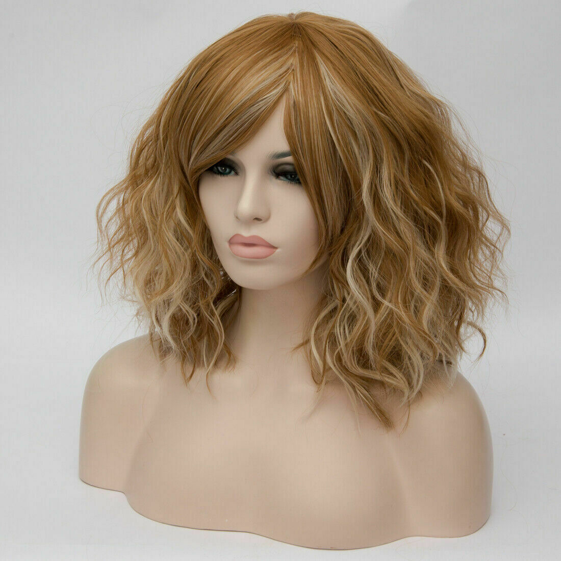 Lolita-Women-039-s-Short-Curly-Anime-Synthetic-Hair-Heat-Resistant-Cosplay-Party-Wig miniature 91