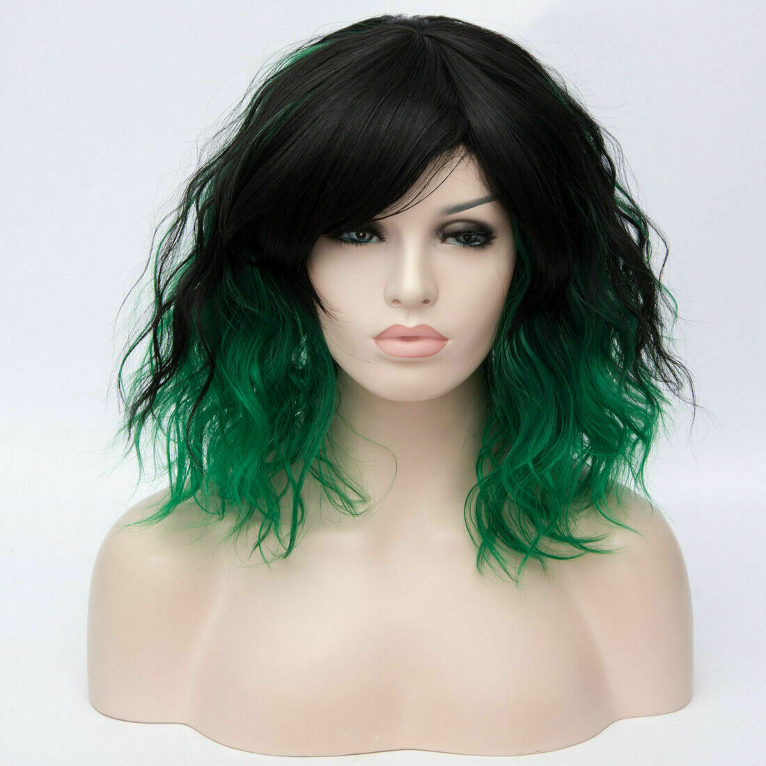 Lolita-Women-039-s-Short-Curly-Anime-Synthetic-Hair-Heat-Resistant-Cosplay-Party-Wig miniature 93