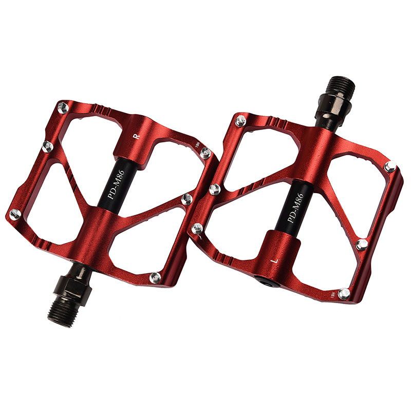 PROMEND-Mountain-Road-Bike-Pedals-3-Bearings-Carbon-Fiber-Core-Tube-Pedals-Flat thumbnail 28