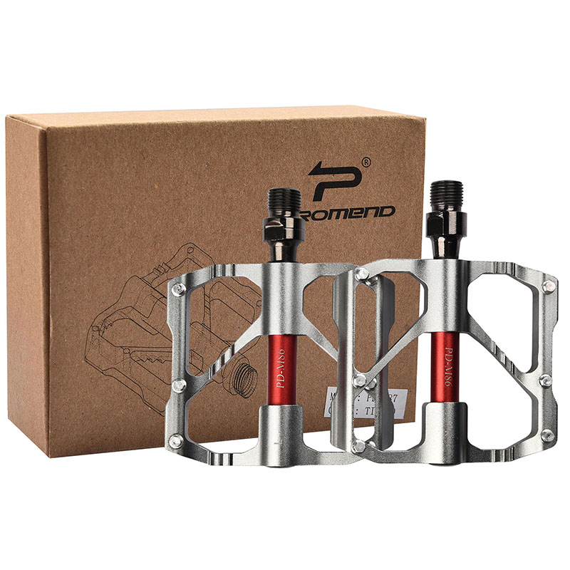 PROMEND-Mountain-Road-Bike-Pedals-3-Bearings-Carbon-Fiber-Core-Tube-Pedals-Flat thumbnail 33