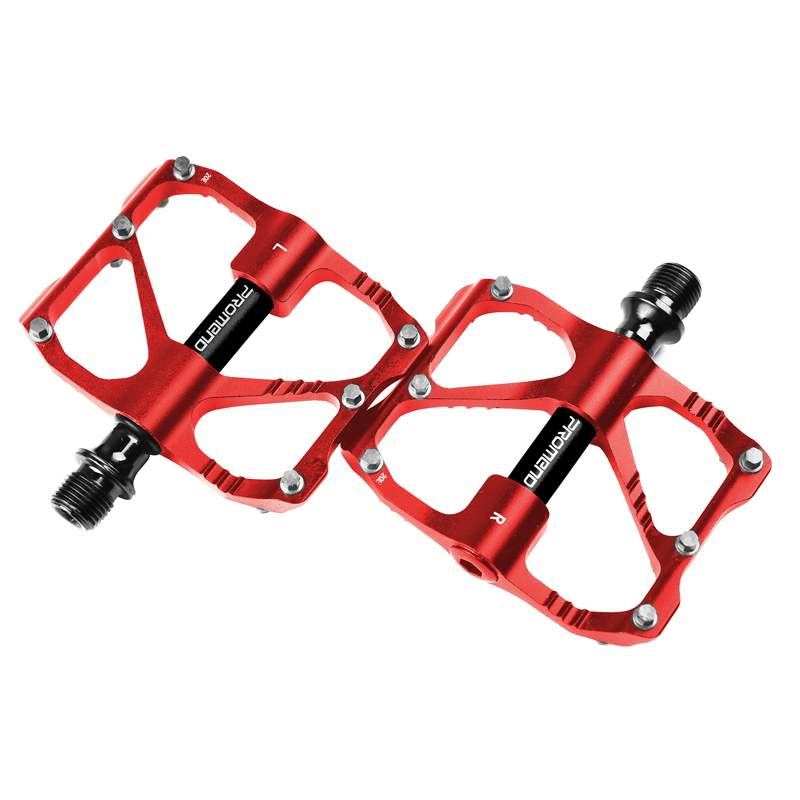 PROMEND-Mountain-Road-Bike-Pedals-3-Bearings-Carbon-Fiber-Core-Tube-Pedals-Flat thumbnail 46