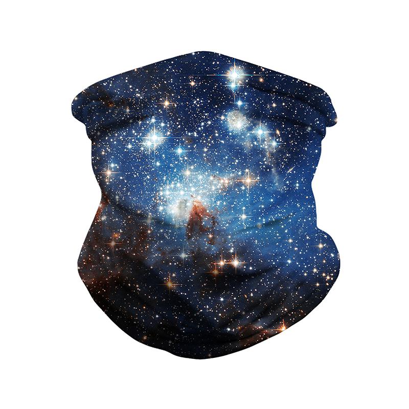 Headband Starry Galaxy Sky Bandana Helmet Liner Balaclava Tube Mask