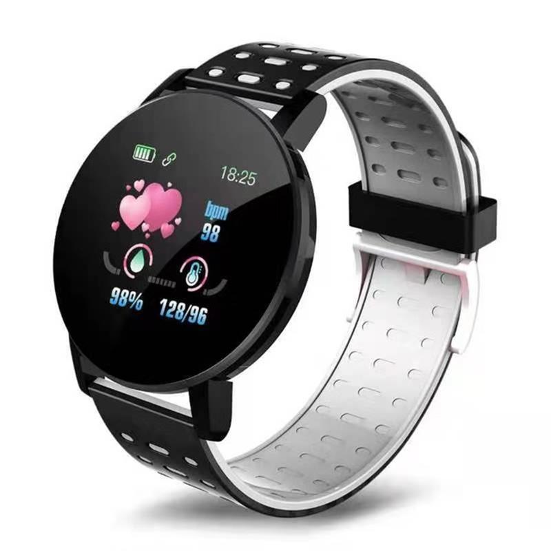 119-plus-smart-watch-IP67-impermeable-a-l-039-Eau-Bracelet-Moniteur-De-Frequence-Cardiaque-Fitness miniature 21