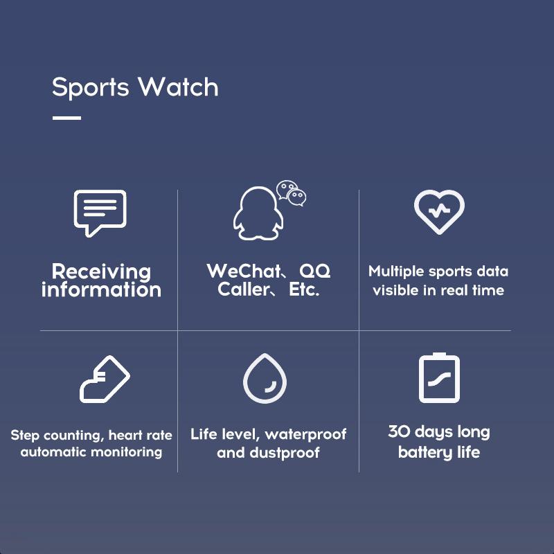 119-plus-smart-watch-IP67-impermeable-a-l-039-Eau-Bracelet-Moniteur-De-Frequence-Cardiaque-Fitness miniature 33