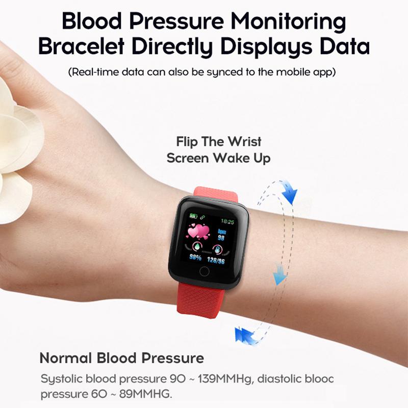 119-plus-smart-watch-IP67-impermeable-a-l-039-Eau-Bracelet-Moniteur-De-Frequence-Cardiaque-Fitness miniature 46