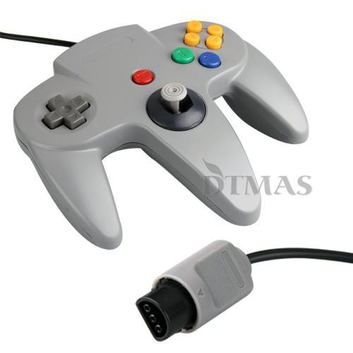 game controller gamepad joystick accessories for nintendo 64 n64 replica system ebay. Black Bedroom Furniture Sets. Home Design Ideas