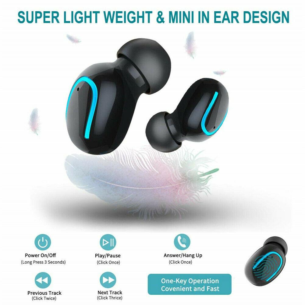 XGODY Q32 Wireless Bluetooth5.0 Earbud TWS Sport Gym Headset