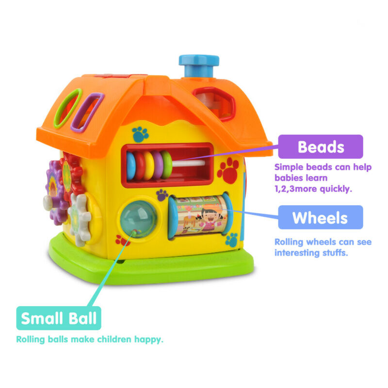 Educational Intelligent Toys Gift For 6 Months 1 2 3 Year ...