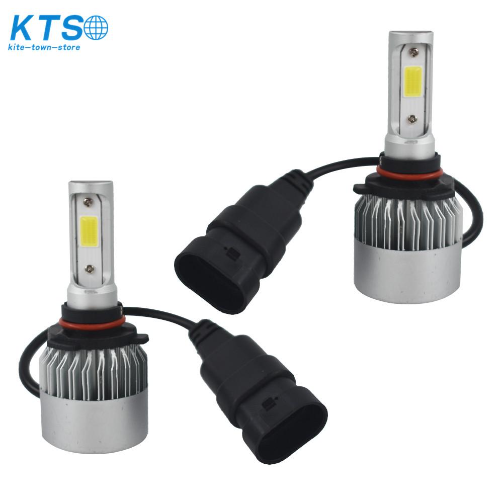 Fog Lights Lamps 6500K 72W LED Bulbs 9145 16000LM For
