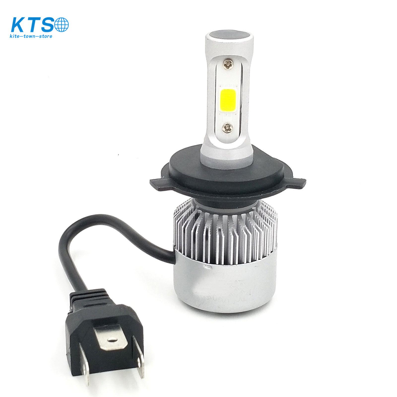 1300W 6000K White 195000LM H4 9003 CREE LED Conversion Headlight Kit Hi//Low Beam