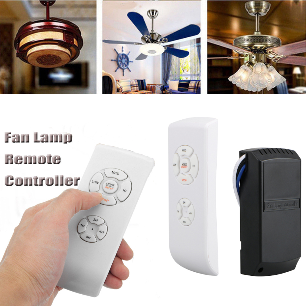 Universal Ceiling Fan Lamp Light Remote Control Wireless