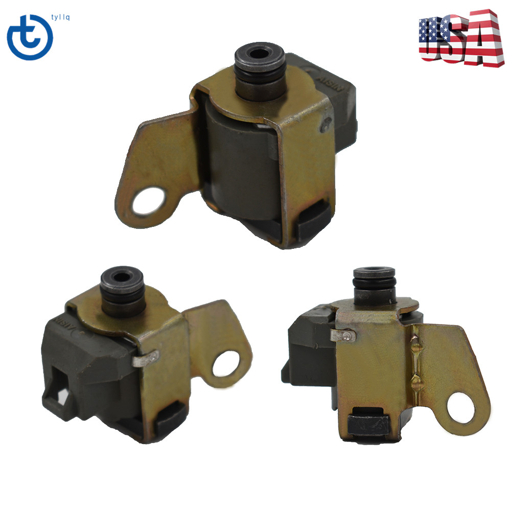 Transmission Solenoid Set Kit A340E A340 AW4 Tcc Shift Lock Up For Toyota  340