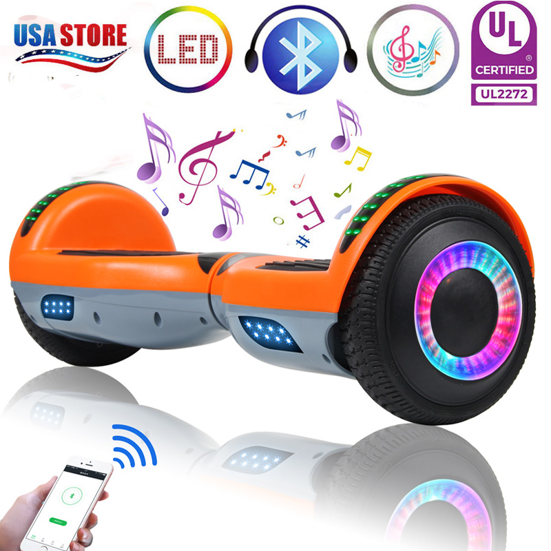 bluetooth hoverboard led self balancing electric scooter