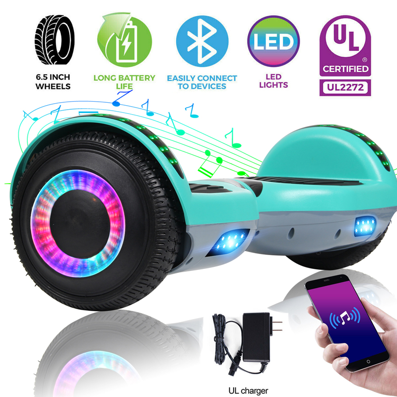 """6.5"""" Hoverboard Electric Self Balancing Scooter sidelight wh"""