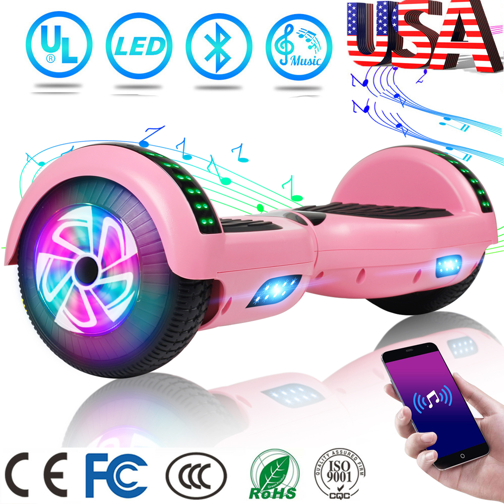 """6.5"""" Hoverboard Electric Balancing Scooter LED 2 Wheels with"""