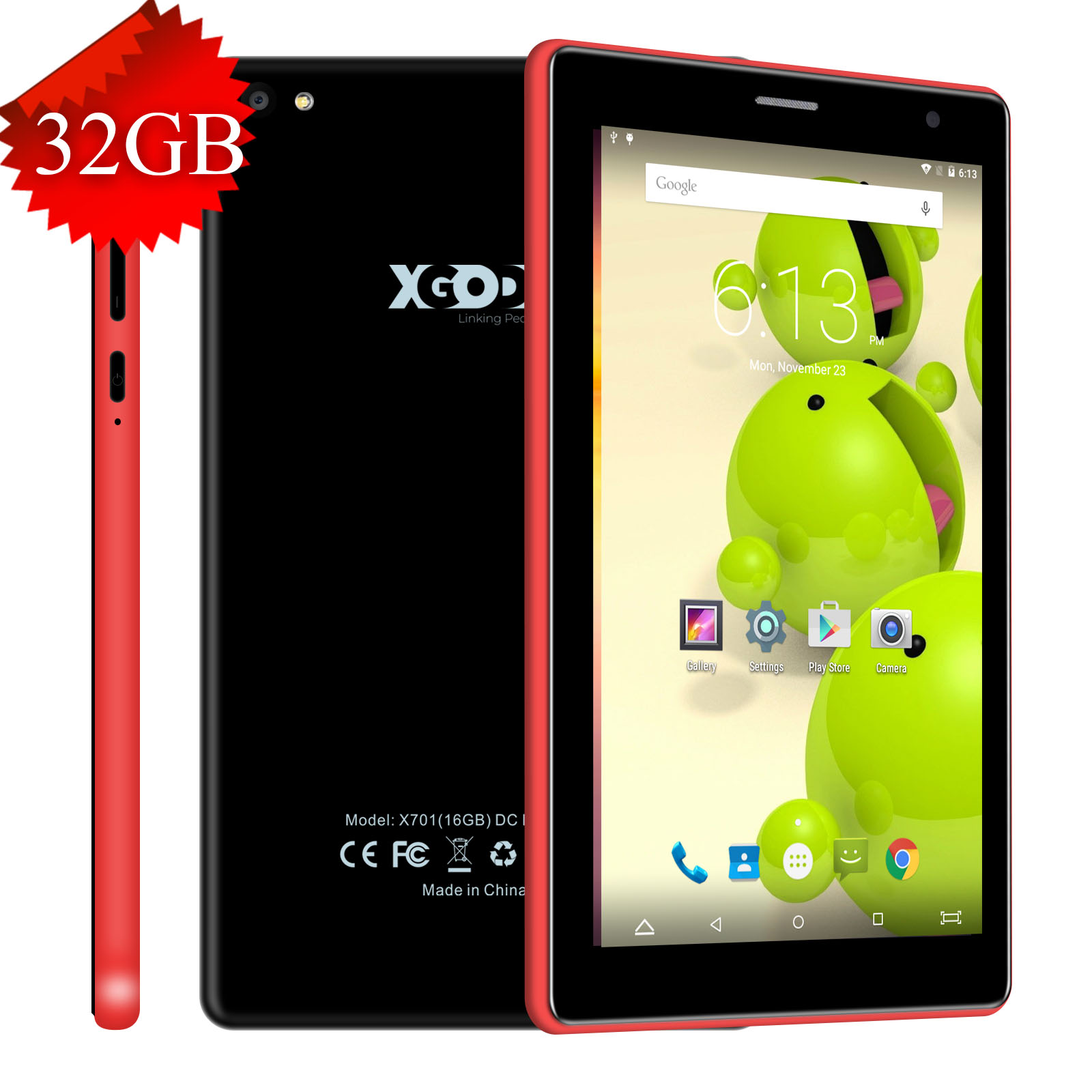 Details about XGODY NEW Android 6 0 Tablet PC 7