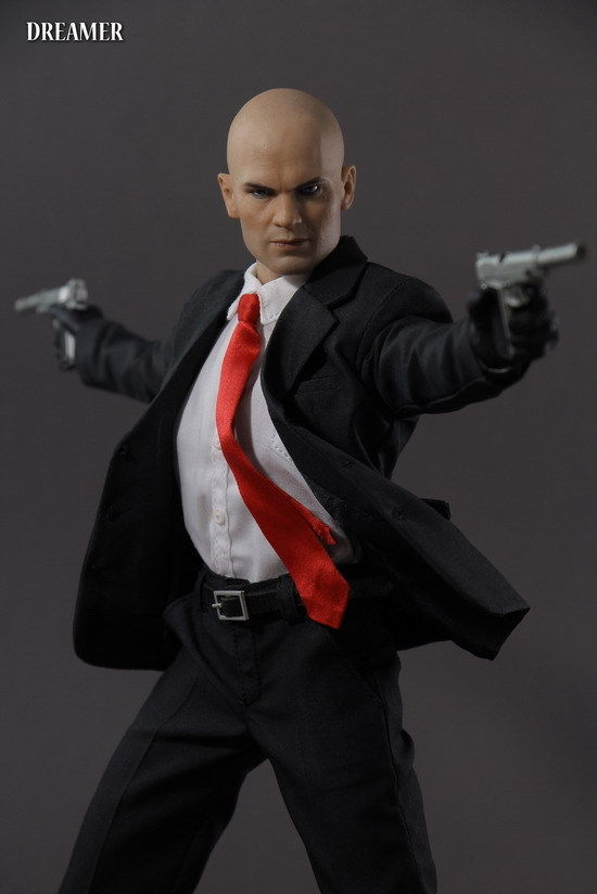 1 6 Scale Dreamer Hitman 47 12  Action Figure Doll Toy & clothes set collection