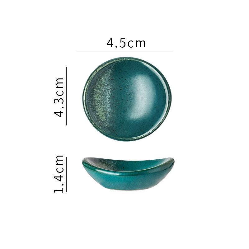 1x-Chopsticks-Holder-Stand-Ceramic-Glaze-Spoon-Fork-Rest-Tableware-Reusable thumbnail 7
